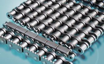 Chaînes à rouleaux de pas court de série B (ISO & BS/DIN)