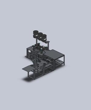 Ligne de production automatique à grande vitesse de la 3ème génération